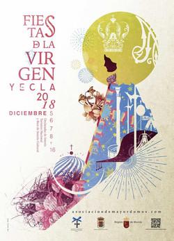CARTEL FIESTAS DE LA VIRGEN 2018