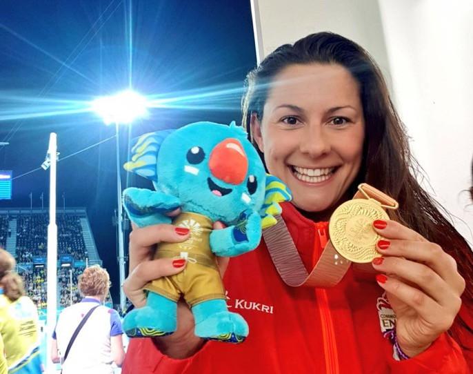 Aimee's Medal Winning Selfie