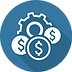costs-optimization-icon-flat-design-vect