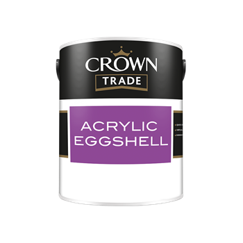 Crown Trade Acrylic Eggshell