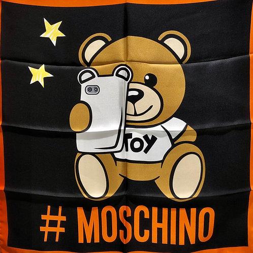 Moschino - Foulard in seta small