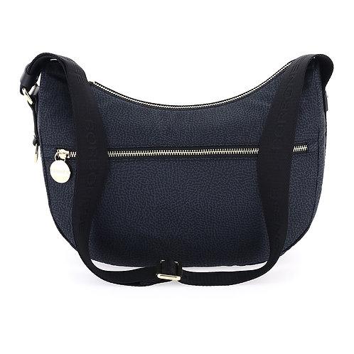 Borbonese - Luna bag small in Jet OP