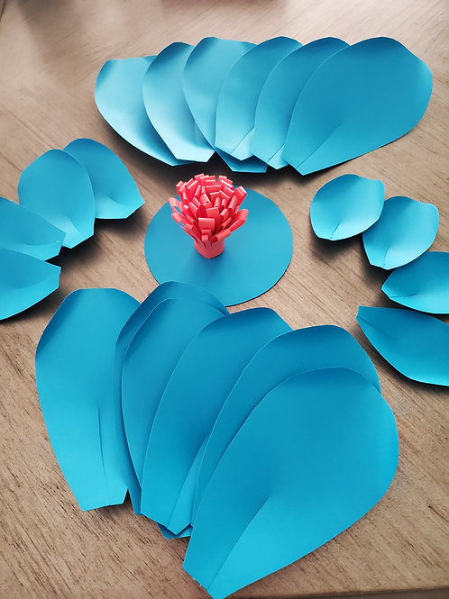 Paper Flower DIY Kit