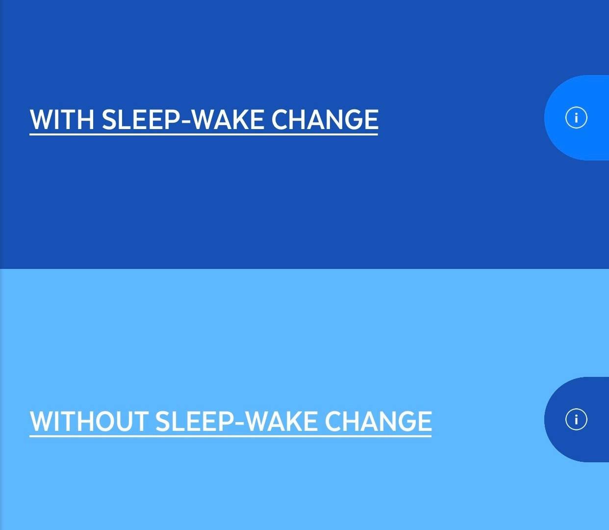 AYO APP HAS A SLEEP WAKE PROGRAM