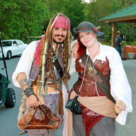 Capt Jack Sparrow and Ms Bonny