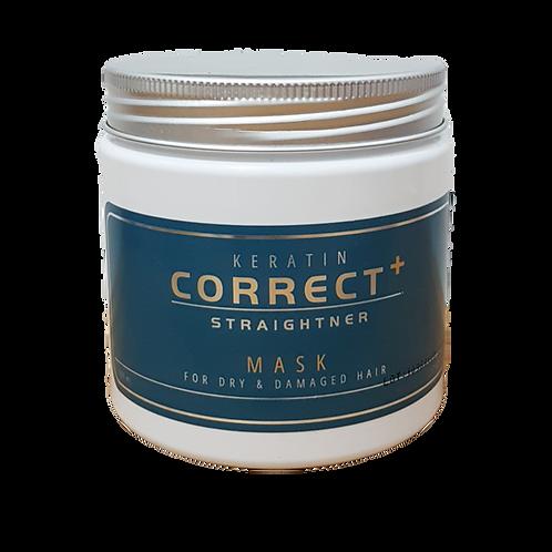 Keratin Correct Straightener - מסכה לשיער שעבר החלקה