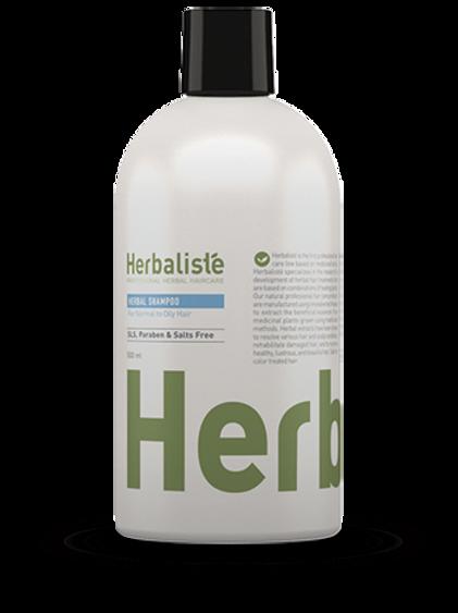 """שמפו צמחי לשיער רגיל עד שמן 500 מ""""ל - הרבליסטה"""