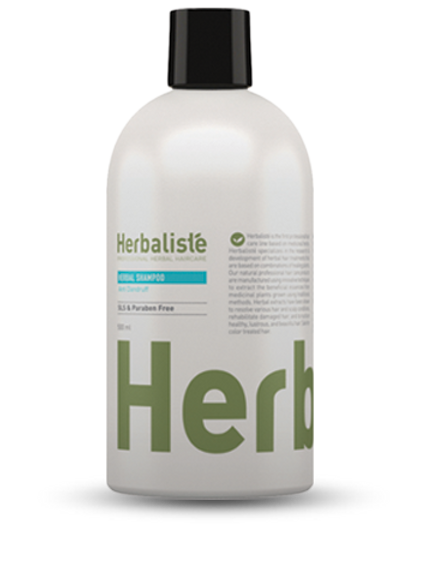 """שמפו צמחי לטיפול בקשקשים 500 מ""""ל - הרבליסטה"""