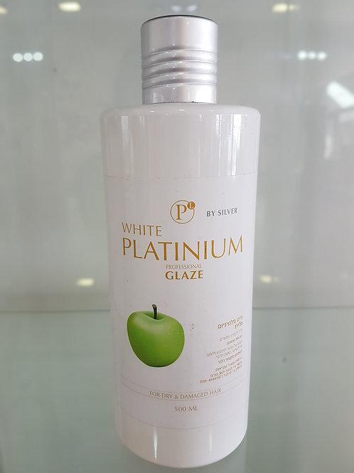 """Silver - וויט פלטיניום גלייז 500 מ""""ל"""
