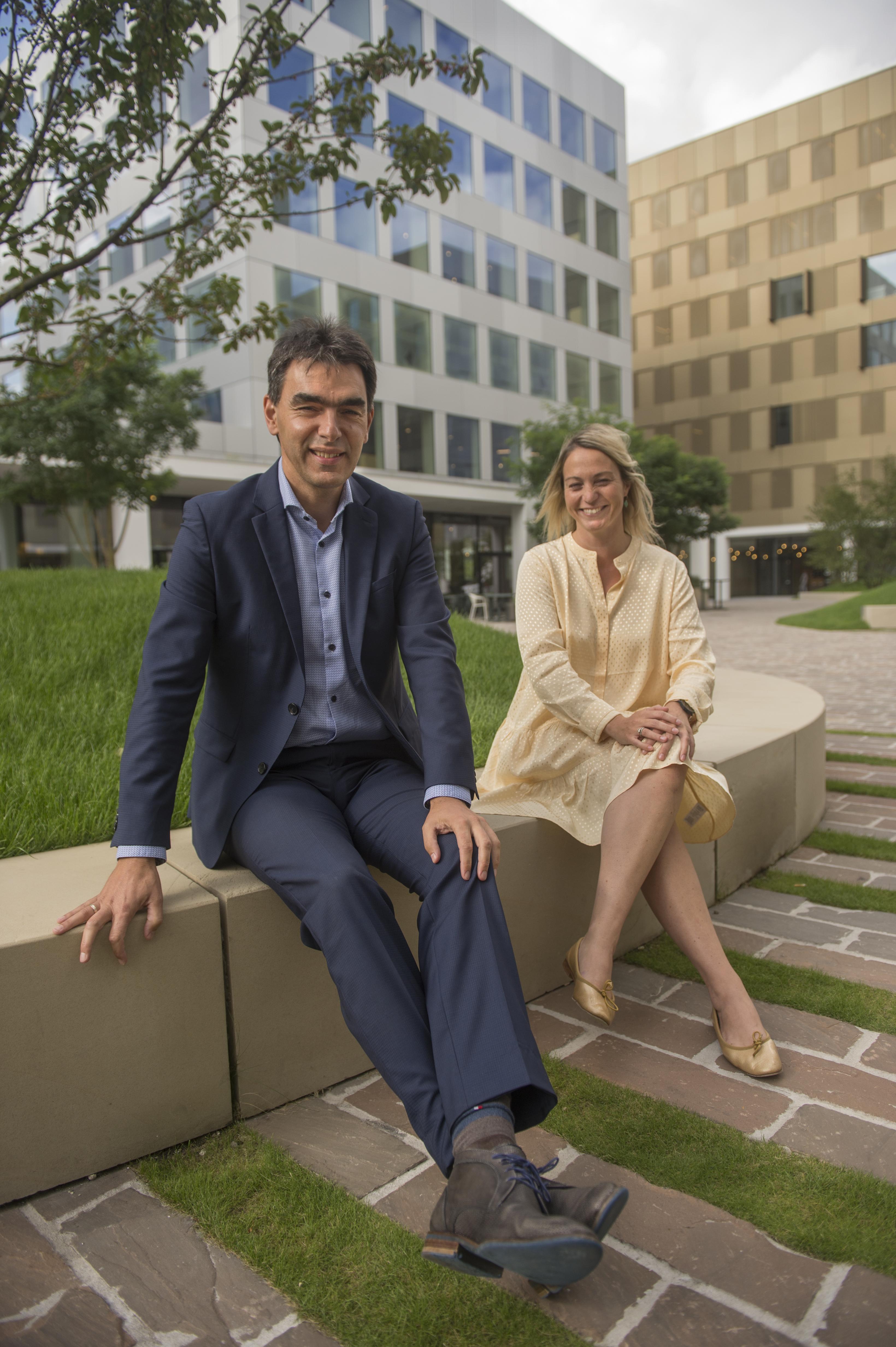 Koen Vlayen en Leen Van Broeck