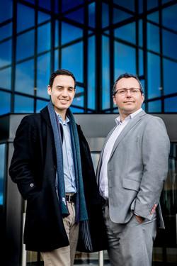 Antonie Dopchie en Peter Vermeire