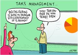 Digitalisering van taks