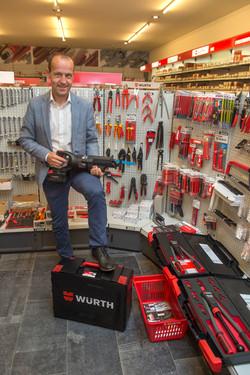 Serge Vrancken, CFO Wurth