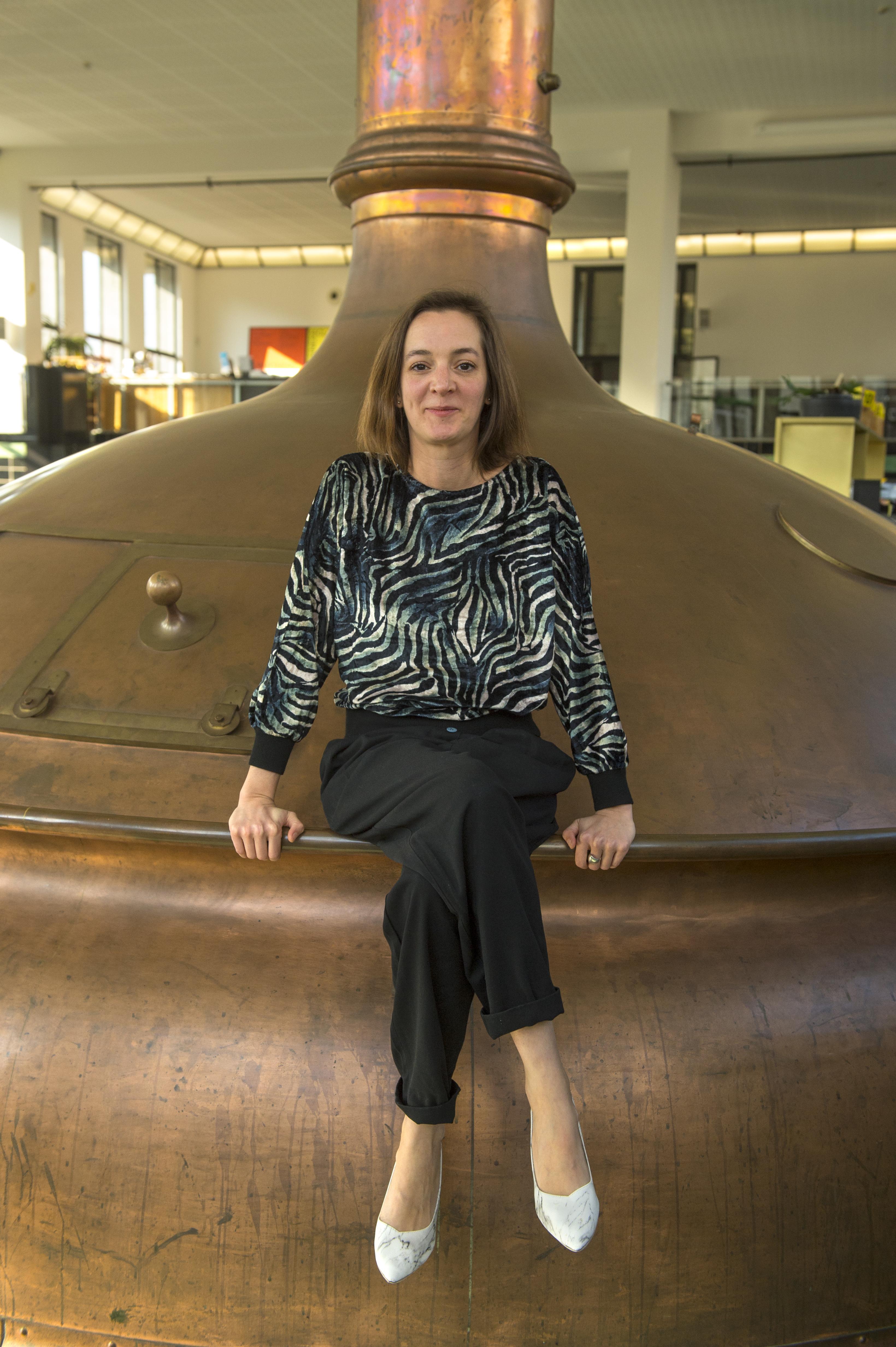 Sophie Rocca, CFO Wiels