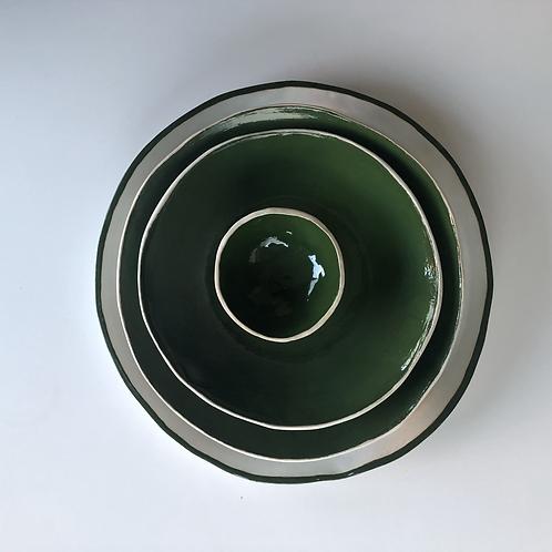 Set Verde e Branco