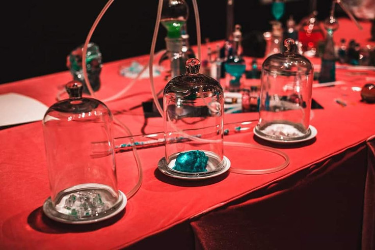 Cristallization. Olfactory. Lisa Shtormit.