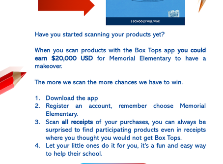 Win a $20,000 Makeover for Memorial with Box Tops!