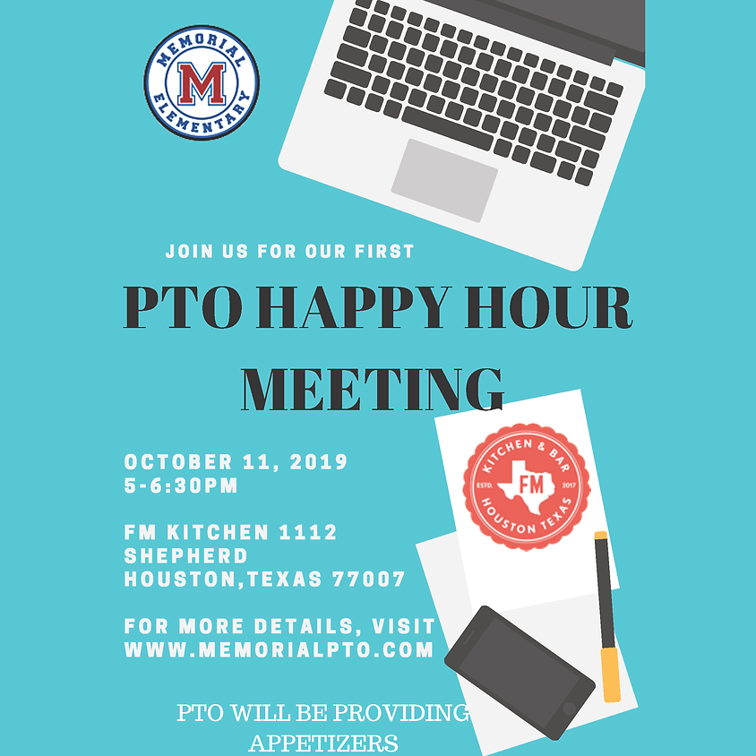 General PTO Happy Hour Meeting