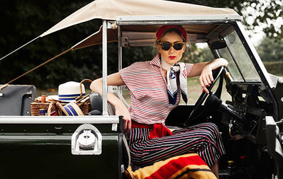 Country Life - how to wear vintage