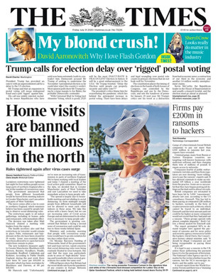 FRANCESCA CUMANI - THE TIMES