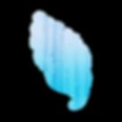 Faded blue seashell