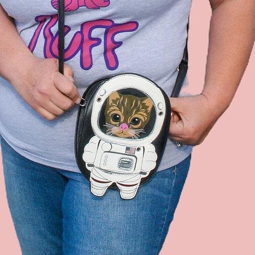 Astronaut Cat Shoulder X Body