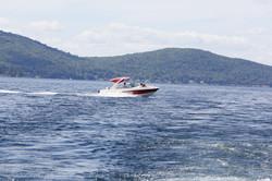 Family Boating on Lake Winnipesaukee