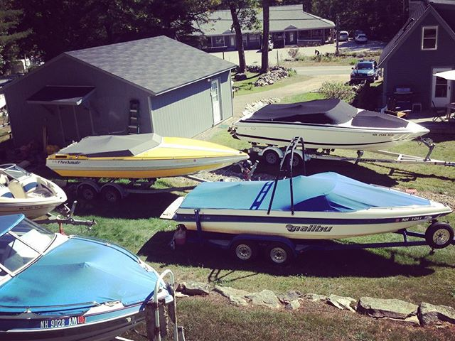 Current boat projects at MST