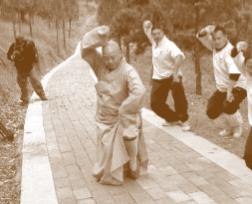 At Shaolin mountain, China