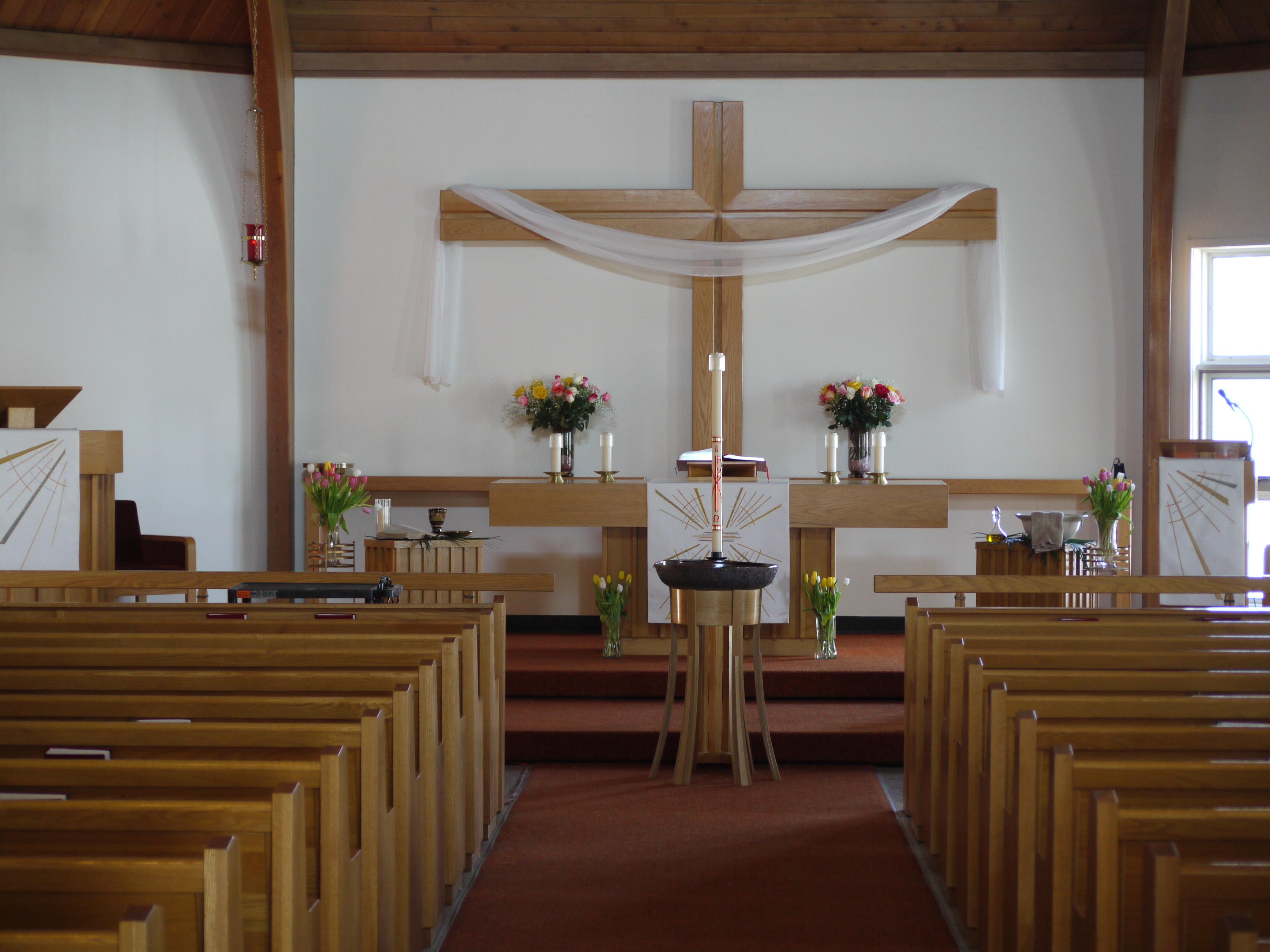 Our Savior's is a beautiful church!