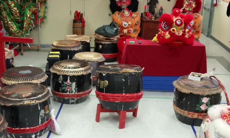 Lion Drum Clearance!