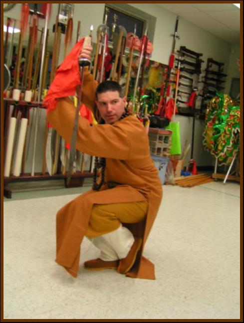 Mrazek Shaolin sword
