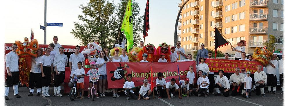 Kung Fu Regina and communit!