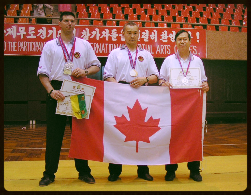 Kung Fu Regina in Korea