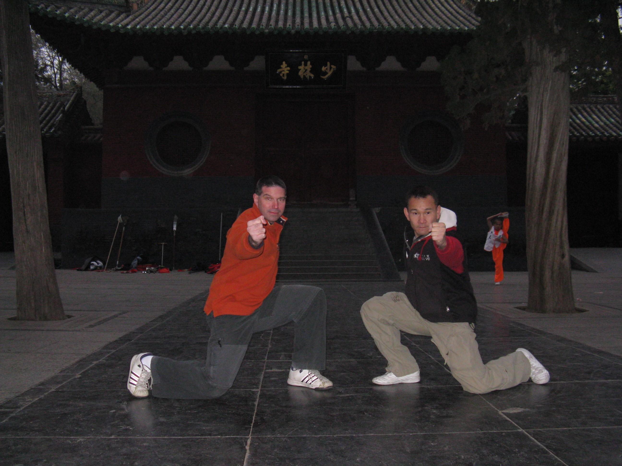 Mrazek at Shaolin