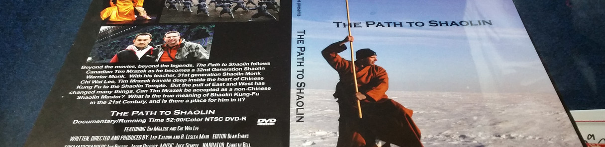Path to Shaolin DVD liner