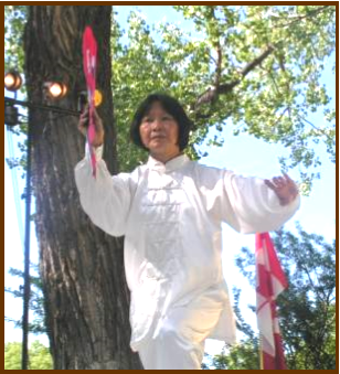 Tai Chi Kung Fu Fan Regina