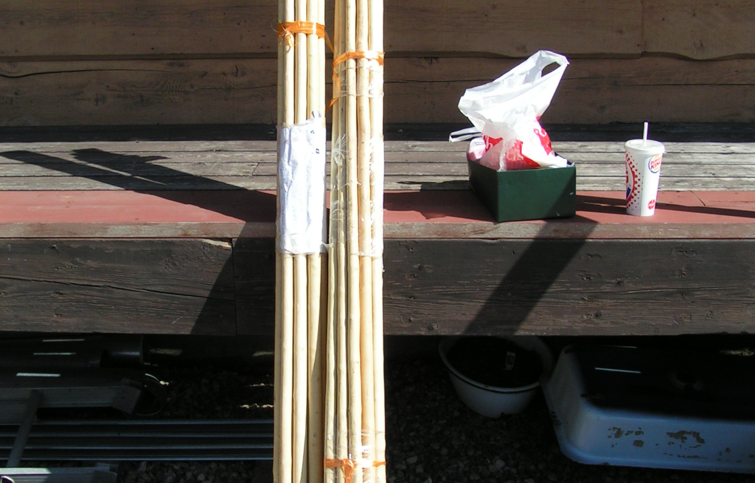 Waxwood Staves from China!