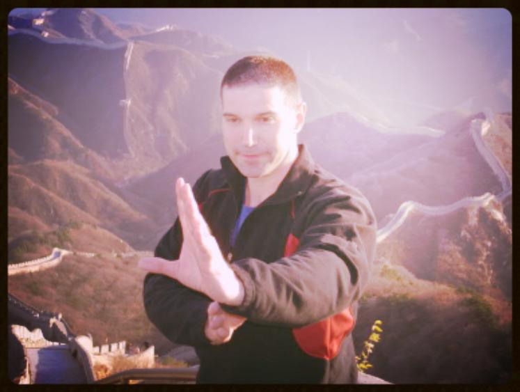 T. R. Mrazek in China