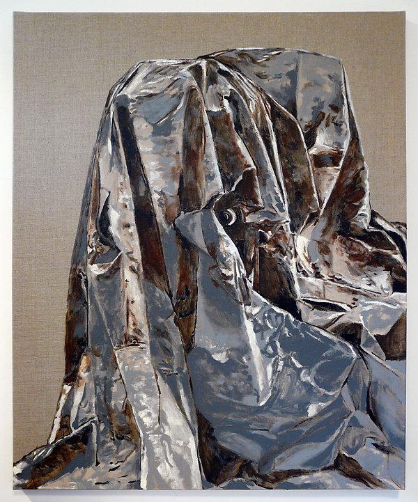 L'ÉNIGME - acrylique sur toile  - Mathieu Le Breton © 2021