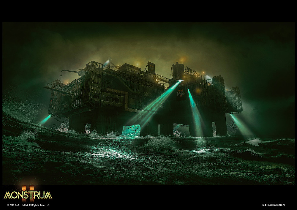 Sea Fortress Concept