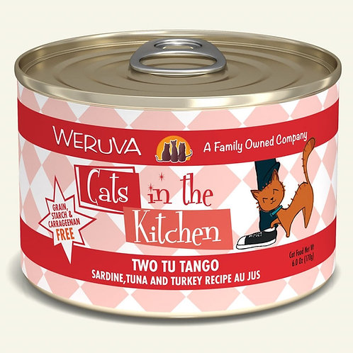 Two tu tango cat food 6oz