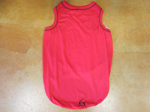 XXL Red Sport Light Tank Top