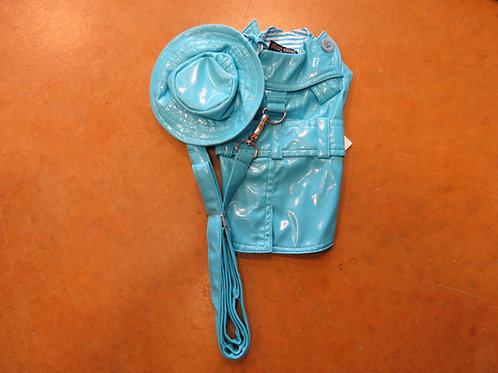 XS Turquoise Rain Coat Set