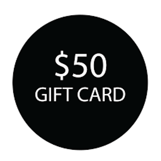 $ 50 E- Gift Card - USA ONLY - includes s/h
