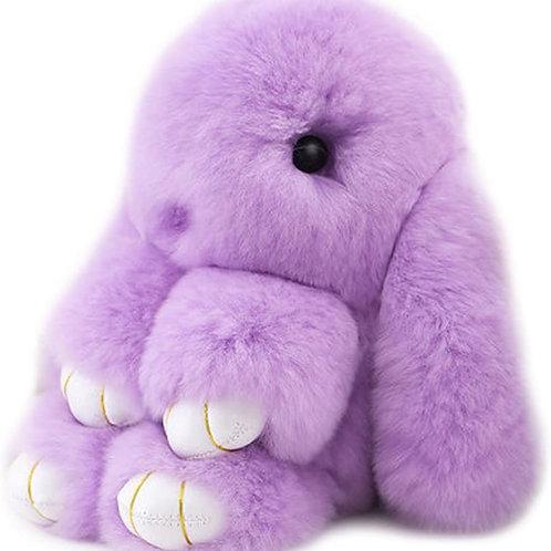 Cute Fluffy Bunny Key Chain