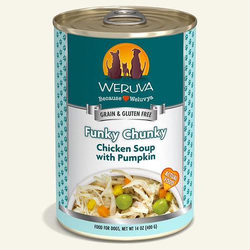 Funky chunky dog food 14oz