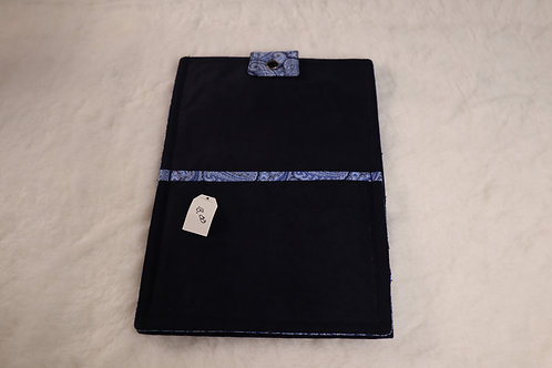 Small Blue Paisley Tablet Case