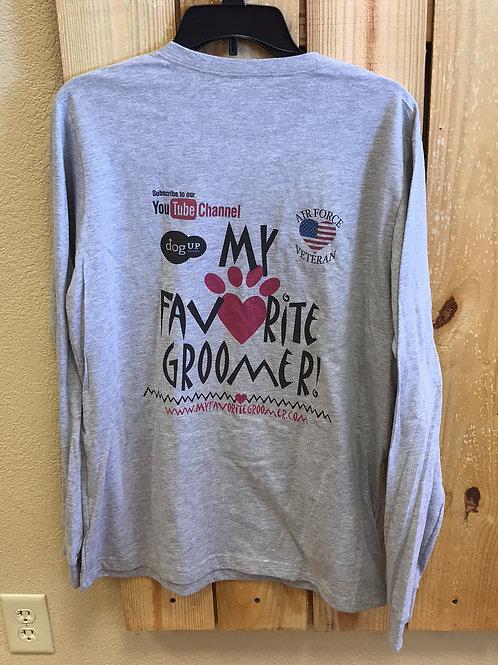 Long Sleeve My Favorite Groomer T-Shirt
