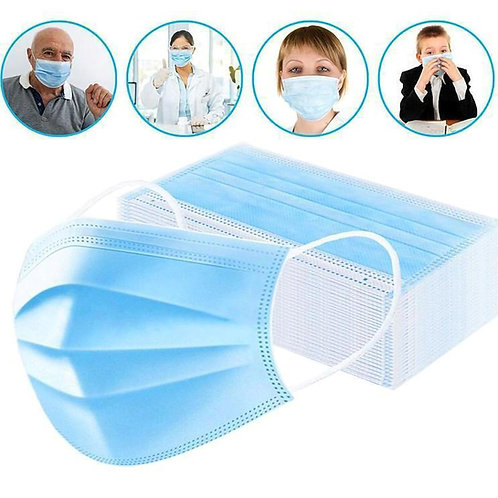 Box of 50 - Disposable Face Mask